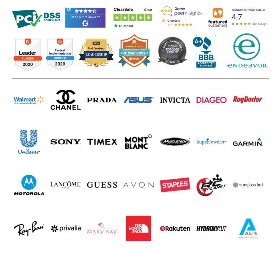 Shopify Plus Logos Badges