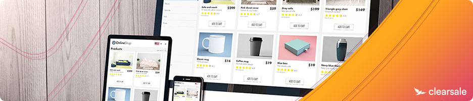ecommerce website appearance